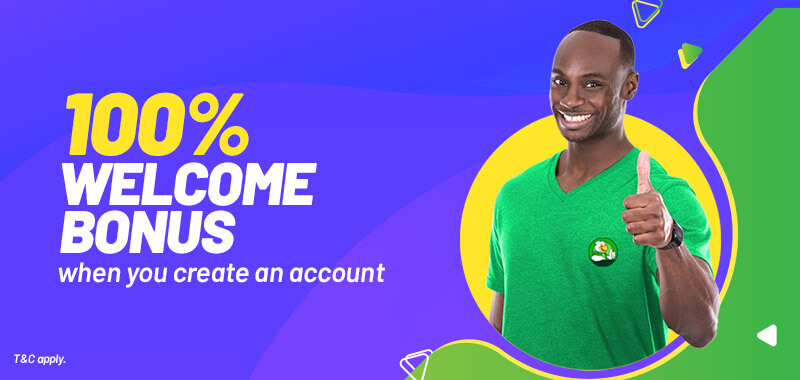 Up to ₦25,000 Welcome Bonus